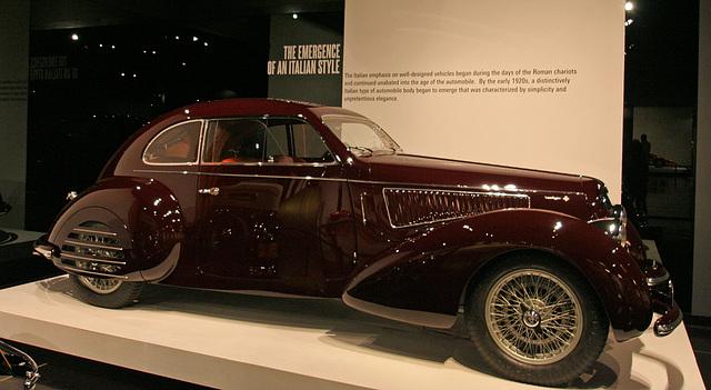 1938 Alfa Romeo 6C2300 Coupe - Petersen Automotive Museum (8066)