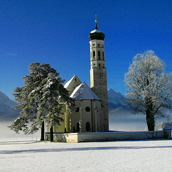 Die Colomans-Kirche. ©UdoSm