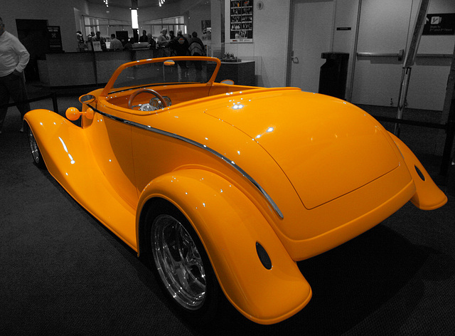 "1933 Ford ""Impact"" by Barry White - Petersen Automotive Museum (7957A)"