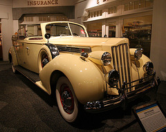 1939 Packard Super 8 Phaeton by Derham - used by Juan & Evita Peron - Petersen Automotive Museum (8008)