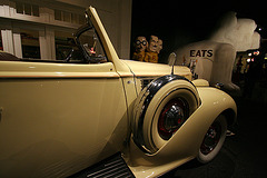 1939 Packard Super 8 Phaeton by Derham - used by Juan & Evita Peron - Petersen Automotive Museum (8010)