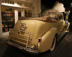 1939 Packard Super 8 Phaeton by Derham - used by Juan & Evita Peron - Petersen Automotive Museum (8011)