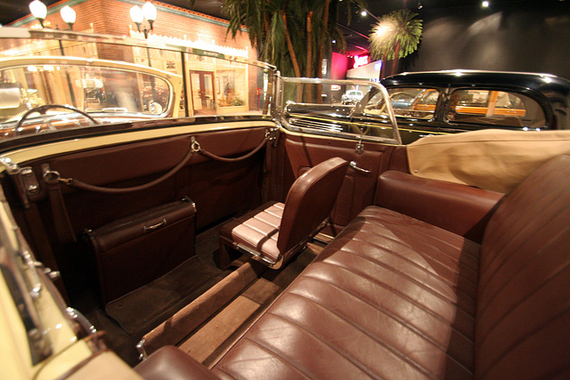1939 Packard Super 8 Phaeton by Derham - used by Juan & Evita Peron - Petersen Automotive Museum (8013)