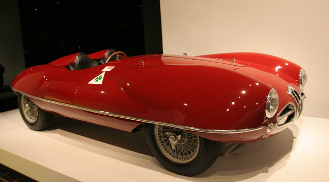 1952 Alfa Romeo 1900 Disco Volante by Carrozzeria Touring - Petersen Automotive Museum (8077)