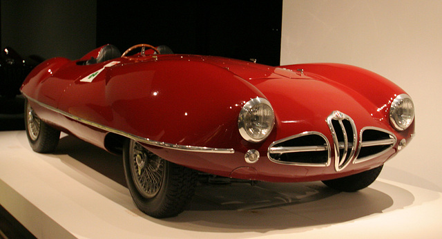 1952 Alfa Romeo 1900 Disco Volante by Carrozzeria Touring - Petersen Automotive Museum (8078)