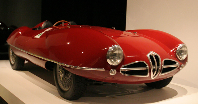 1952 Alfa Romeo 1900 Disco Volante by Carrozzeria Touring - Petersen Automotive Museum (8079)
