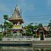 Wat Pluk Sattha on the end of Khlong Sam
