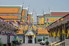 Gate to Wat Pluk Sattha