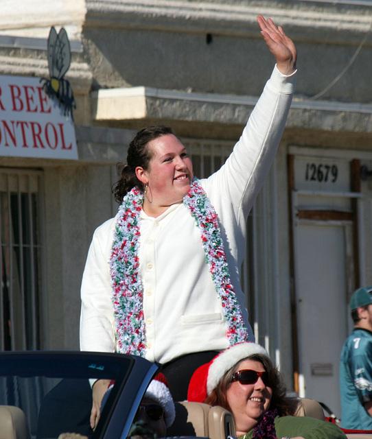 DHS Holiday Parade 2012 - Sarah Robles (7724)