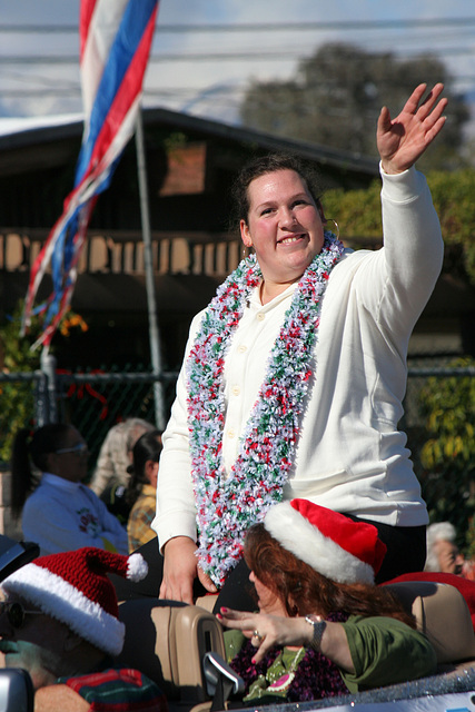 DHS Holiday Parade 2012 - Sarah Robles (7728)