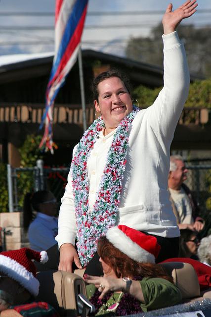 DHS Holiday Parade 2012 - Sarah Robles (7729)