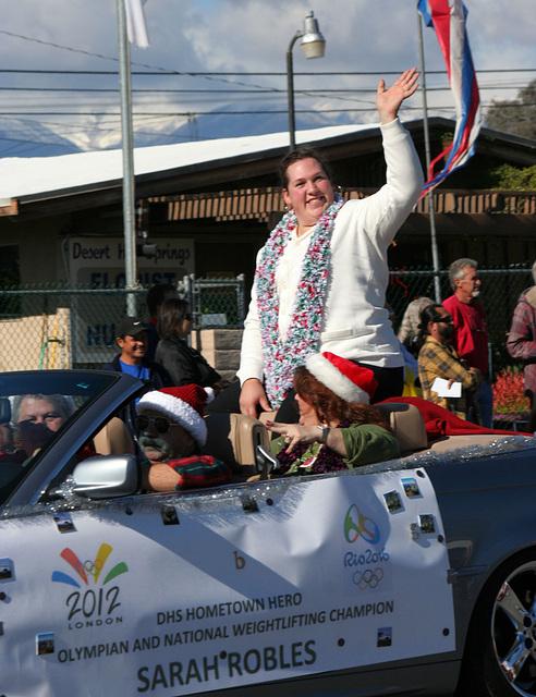 DHS Holiday Parade 2012 - Sarah Robles (7731)