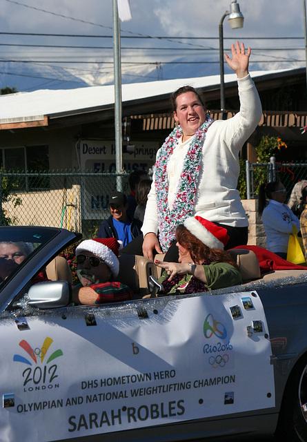 DHS Holiday Parade 2012 - Sarah Robles (7732)