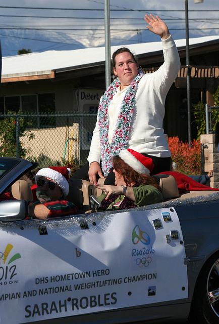 DHS Holiday Parade 2012 - Sarah Robles (7733)