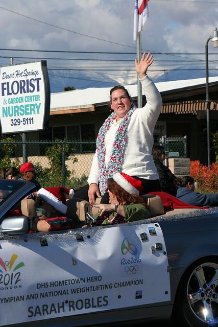 DHS Holiday Parade 2012 - Sarah Robles (7734)