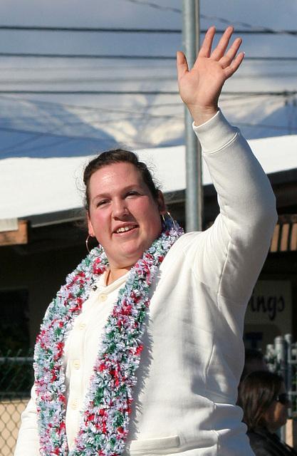DHS Holiday Parade 2012 - Sarah Robles (7734A)