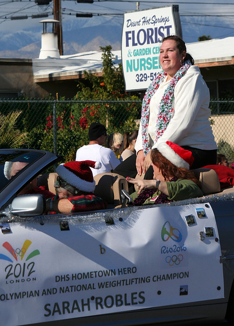 DHS Holiday Parade 2012 - Sarah Robles (7736)