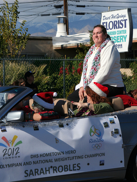 DHS Holiday Parade 2012 - Sarah Robles (7737)