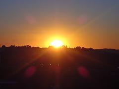 Mi amas la okazon kiam la suno sunbiras!...