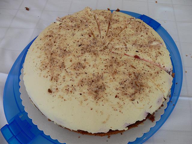 Quark-Kirsch-Torte