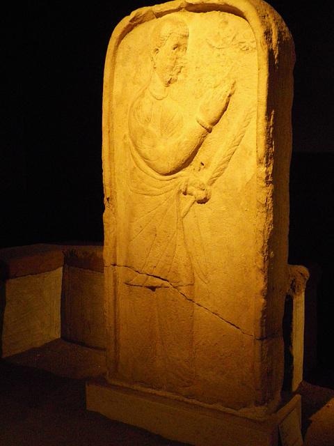Stèle sassanide.