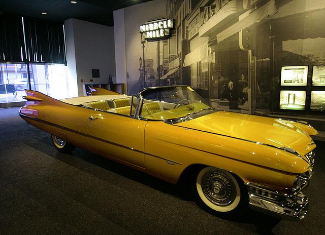 1959 Cadillac Series 62 Convertible - Petersen Automotive Museum (8027A)