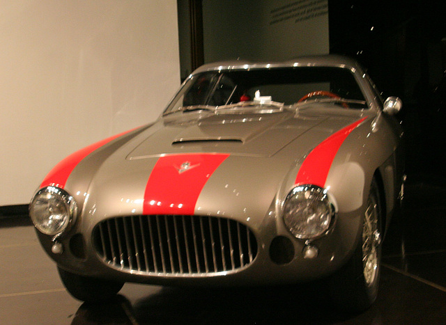 1954 Fiat 8V Coupe by Zagato - Petersen Automotive Museum (8085)