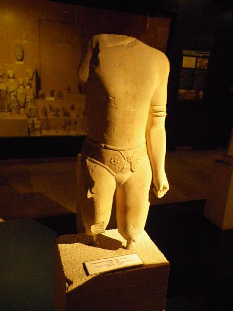 Statue sassanide.
