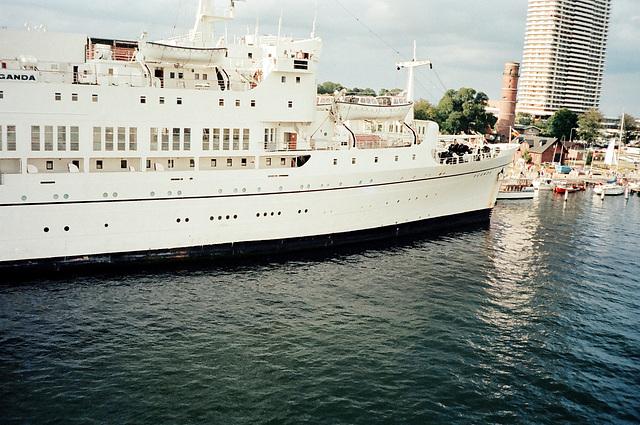 Kreuzfahrtschiff  UGANDA