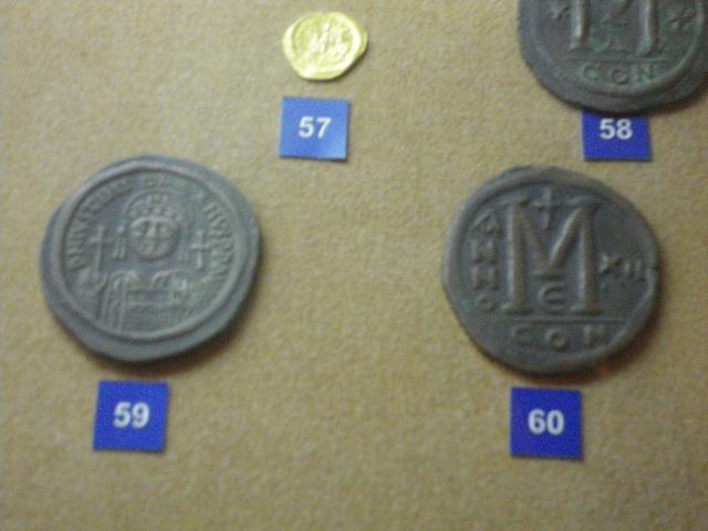 Monnaie de Justinien.