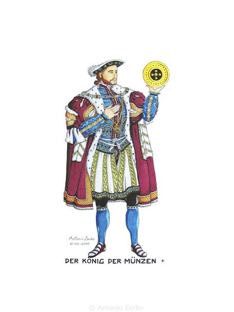 Der König Der Münzen
