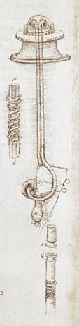From Leonardo Da Vinci's Notebook