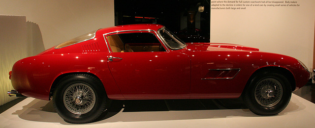 1959 Chevrolet Corvette Italia by Scaglietti - Petersen Automotive Museum (8087)
