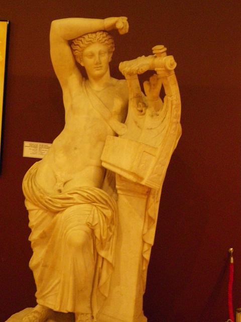 Ephèbe à la lyre.