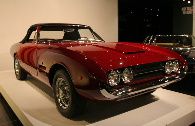 1967 Ghia 450SS by Ghia (Plymouth Barracuda underneath) - Petersen Automotive Museum (8098)