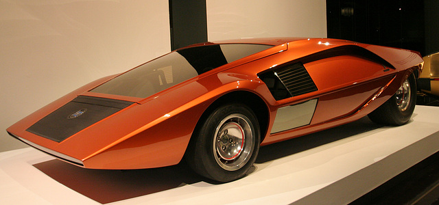 1970 Lancia Stratos HF Zero by Bertone - Petersen Automotive Museum (8120)