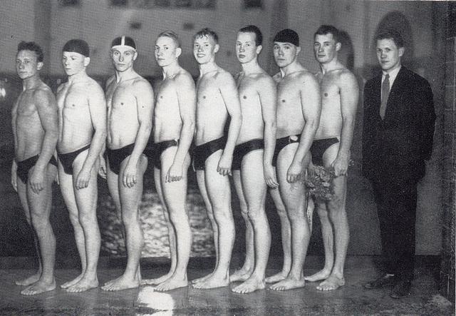 Die sowjetische Schwimmdelegation 1926 in Deutschland
