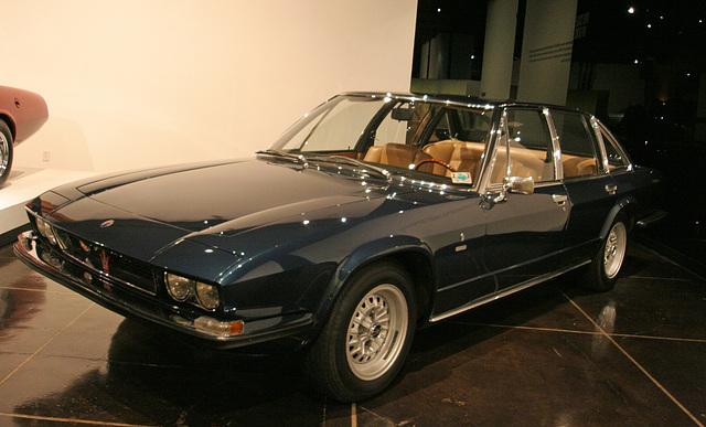 1971 Maserati Quattroporte by Frua - Petersen Automotive Museum (8102)