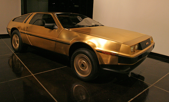 1981 DeLorean DMC12 by Italdesign - Petersen Automotive Museum (8124)