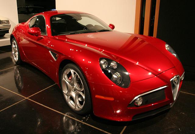 2008 Alfa Romeo 8C Competizione by Centro Stile Alfa Romeo - Petersen Automotive Museum (8126)