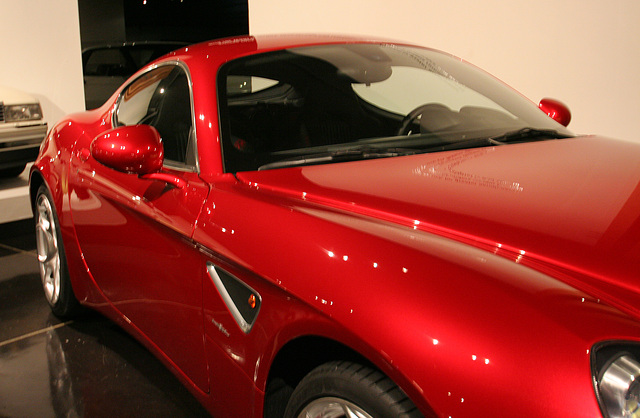 2008 Alfa Romeo 8C Competizione by Centro Stile Alfa Romeo - Petersen Automotive Museum (8129)