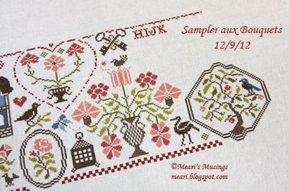 Sampler aux Bouquets 12/9/12