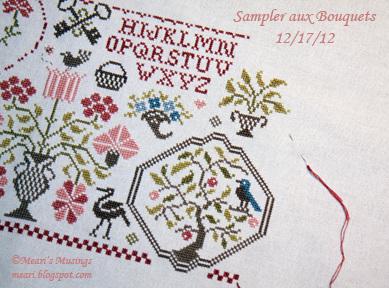 Sampler aux Bouquets 12/17/12