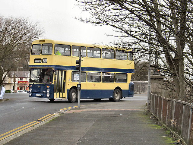 Leyland Double decker bus