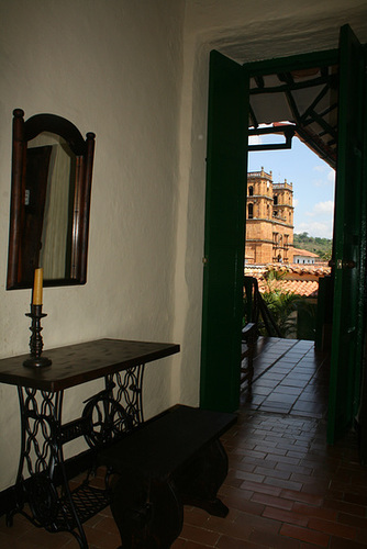 From Our Delightful Room - Barichara, Colombia
