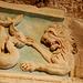 Pouncing lion