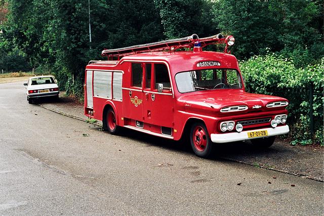 1962 Chevrolet 4302 Fire Engine