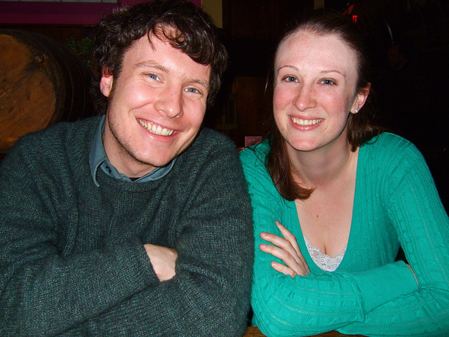 Colin and Jessica, March 2010