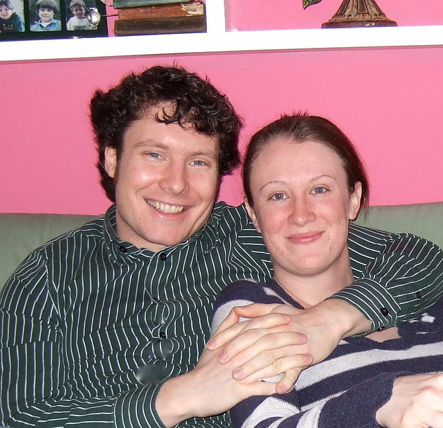 Colin and Jessica, March 2010