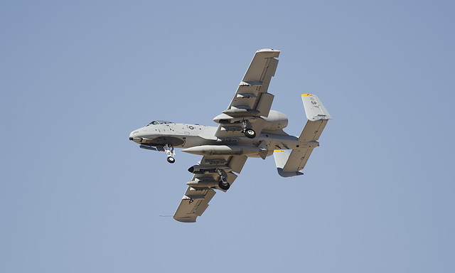 52nd Fighter Wing Fairchild A-10C 81-0992